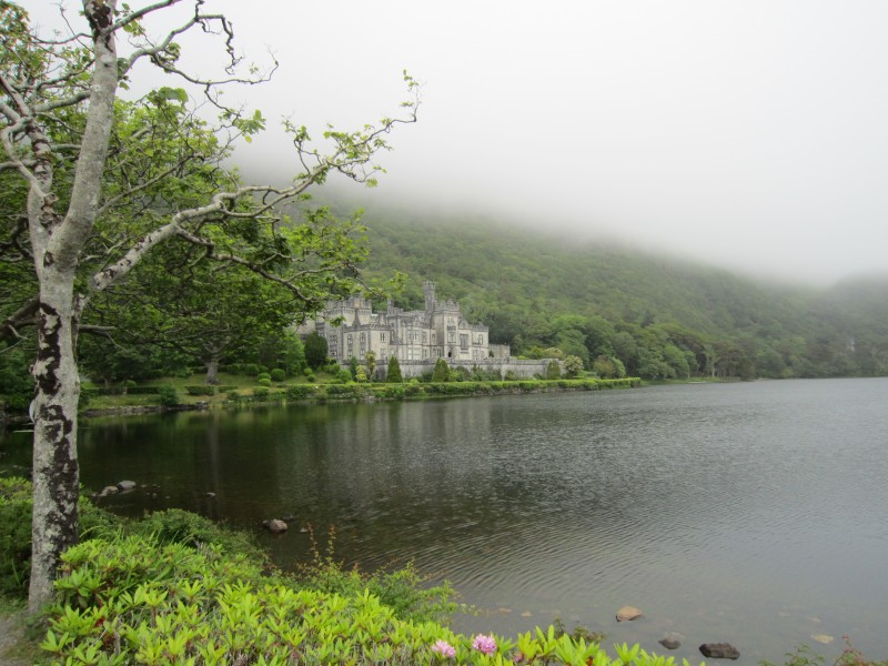 Kylemore Abbey near Galway Ireland