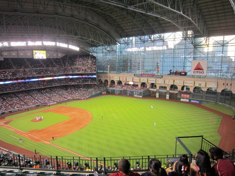 Mandy Living Life Mlb Stadium 13 Minute Maid Park
