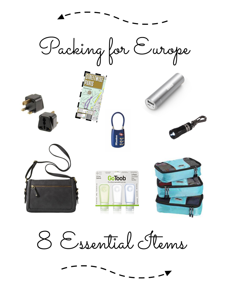 Europe Packing Tips 8 Essential Items