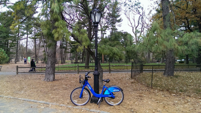CitiBikeInCentralPark
