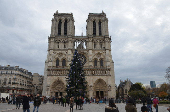 Notre Dam at Christmas