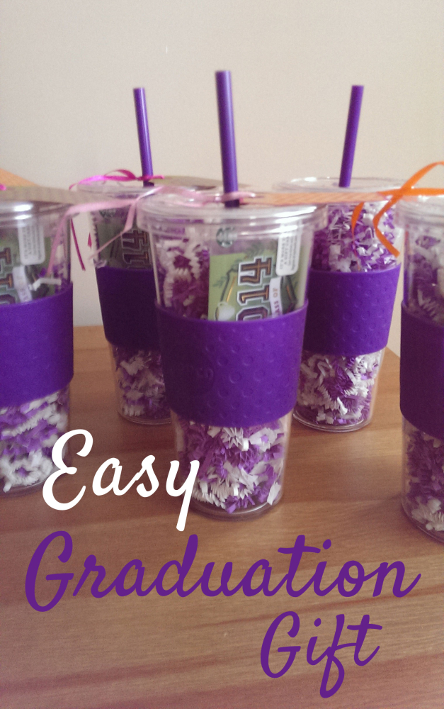 Great graduation gifts sugar bee crafts for Easy diy gifts for boys