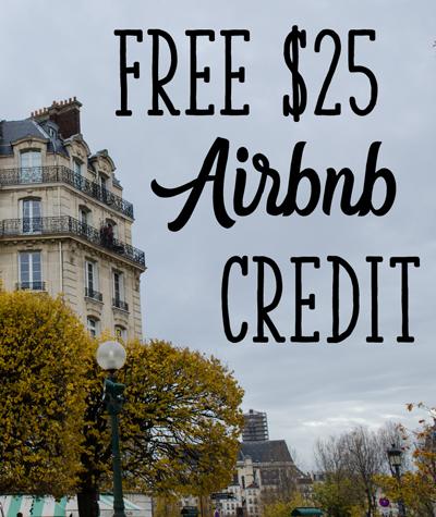 $25 Airbnb Credit
